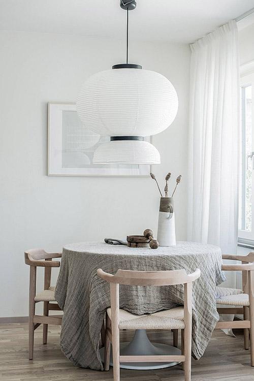 Cómo decorar un comedor de diseño y estilo nórdico