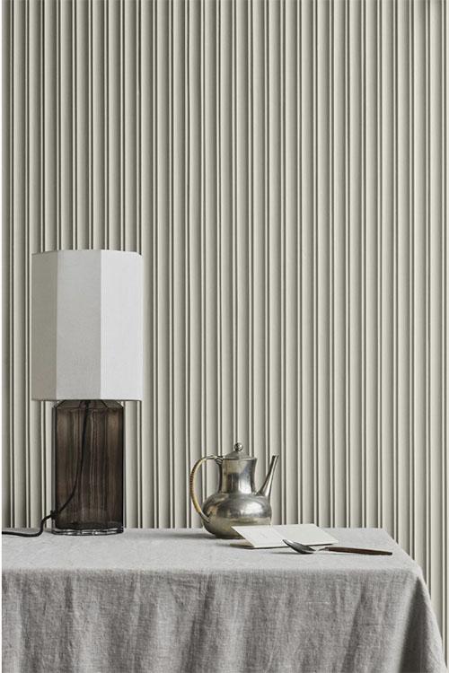 El lino combinado con las tonalidades de color crema