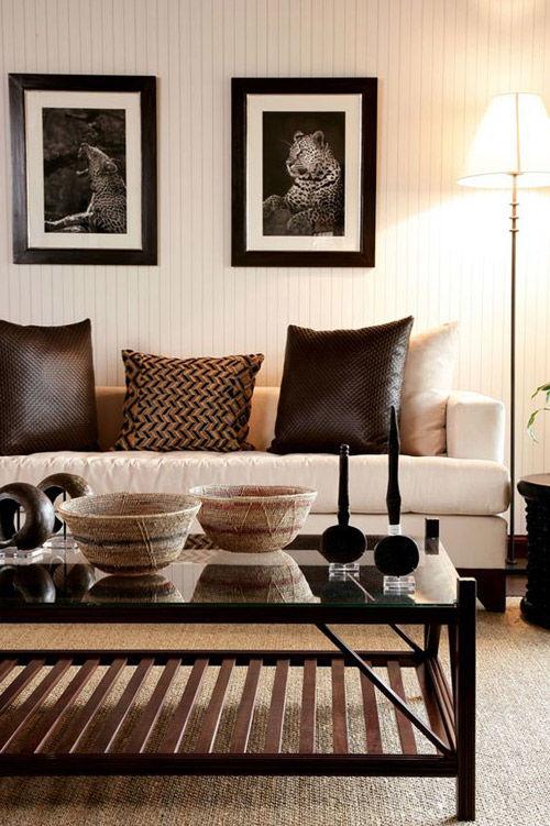 interior de estilo africano