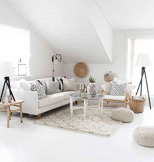Decoración de interiores con alfombras de marruecos