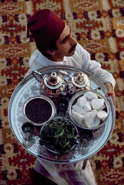 La ceremonia del té en Marruecos