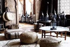 decoración de Marruecos