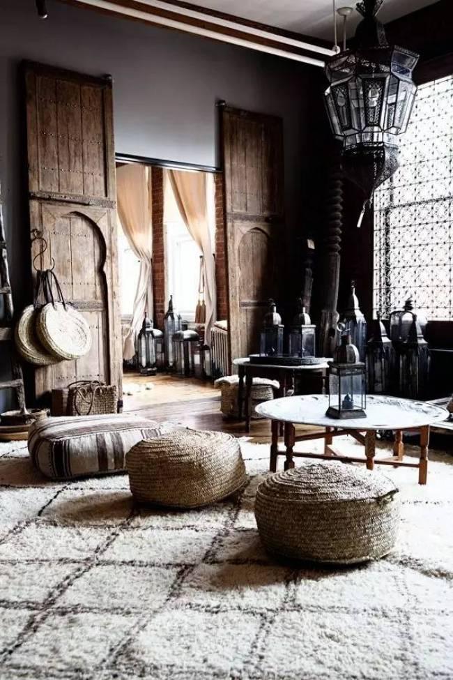 La decoración arabe o marroquí