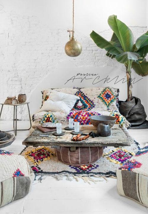 Textiles étnicos de Marruecos