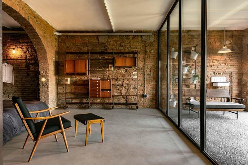 cómo decorar una casa de campo moderna