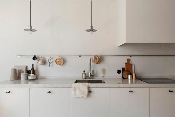 8 Ideas para la Decoración de Cocinas Pequeñas - Nomadbubbles