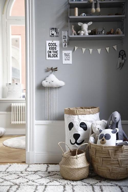 habitaciones infantiles en la decoración de casa