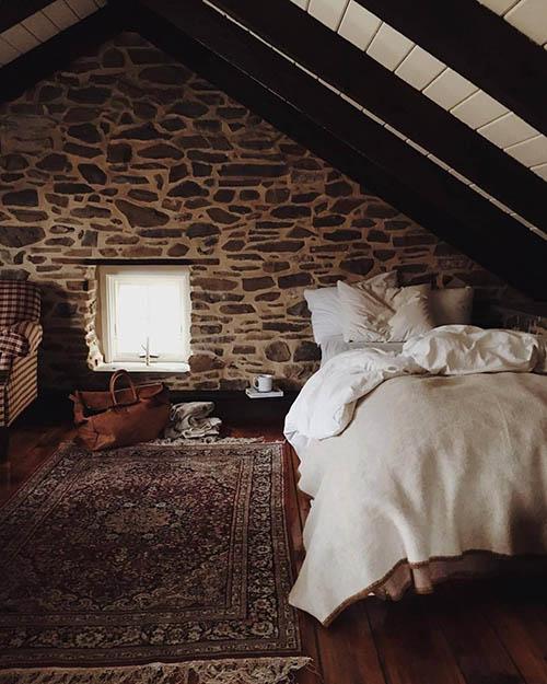 Habitación de una casa rural