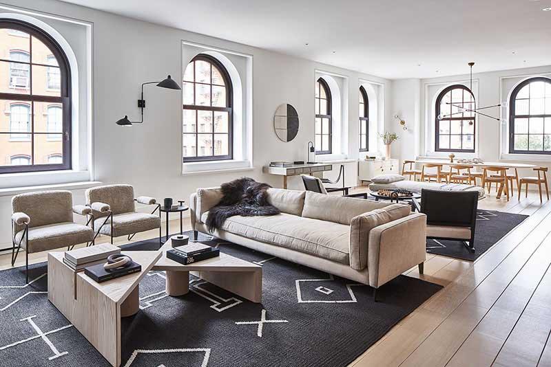 Diseño de espacios tipo loft