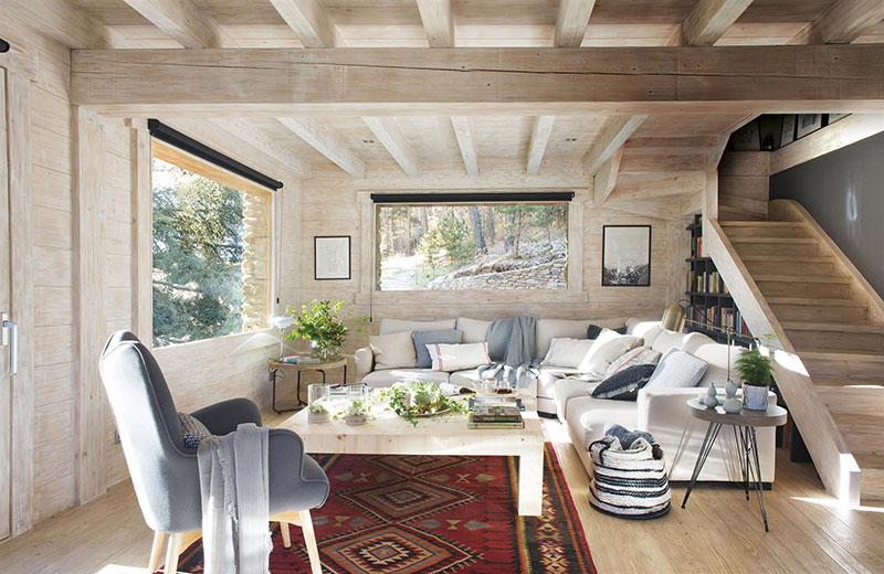 decoración de salones de madera