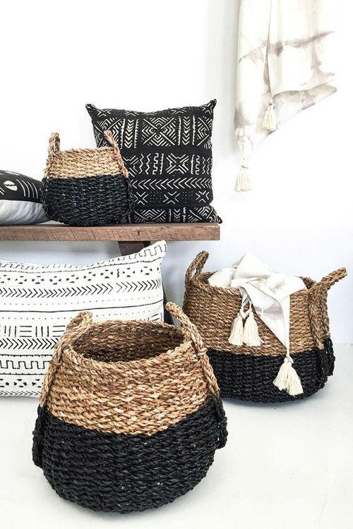 accesorios tribales para una decoración étnica