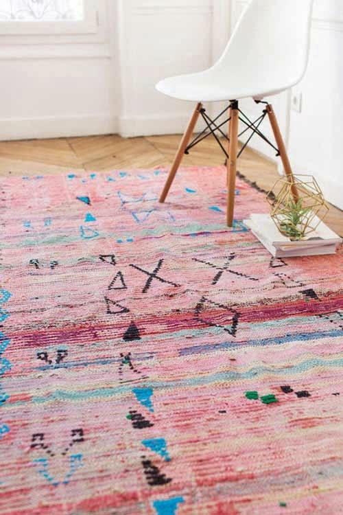 Decoración del hogar con alfombras de Marruecos