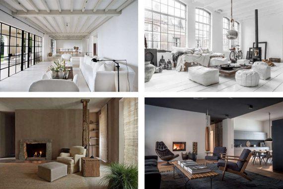 8 Estilos de Decoración de Interiores para este 2019 - Nomadbubbles