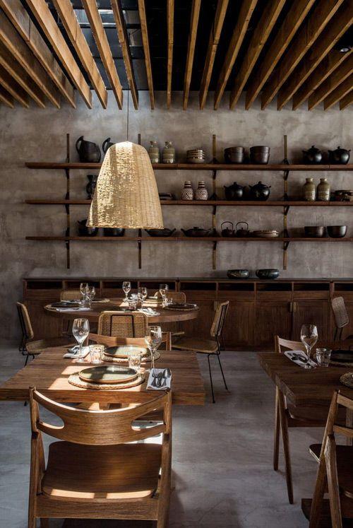 diseño y decoración de interiores con lámparas de mimbre y ratán