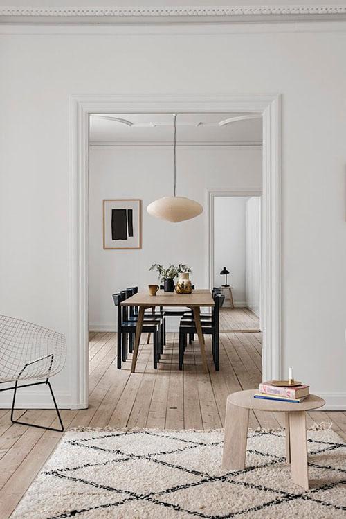Diseño y decoración de interiores con lámparas de papel