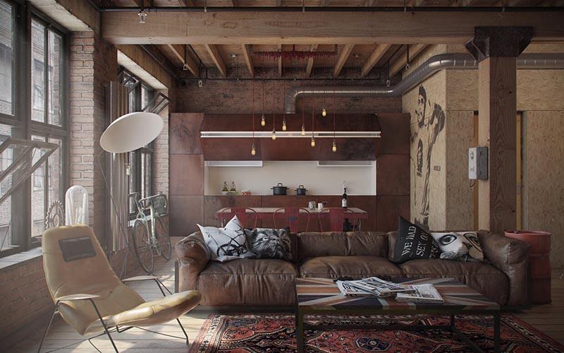 Ideas para la decoración de viviendas tipo loft