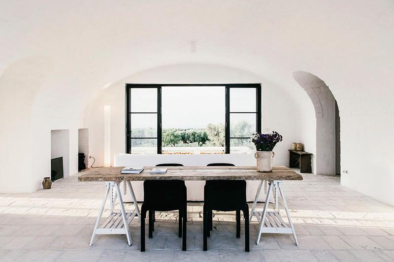 Decoración de diseño y estilo minimalista
