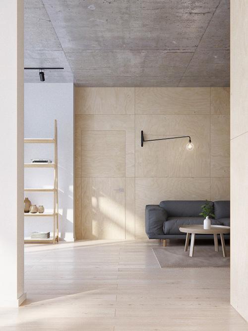 Espacios lo más ordenados posibles en los interiores minimalistas