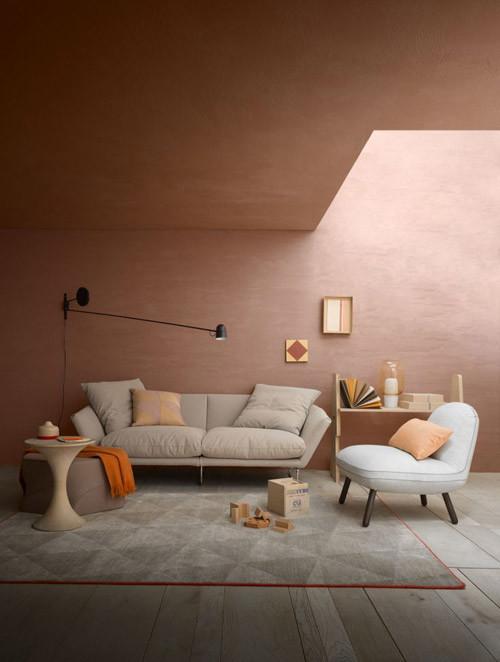 el color terracota para decorar con estilo el hogar