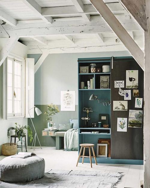 Cómo decorar y pintar las paredes de un salón