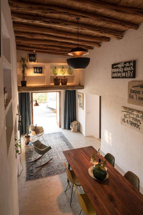 Una casa de campo en Ibiza