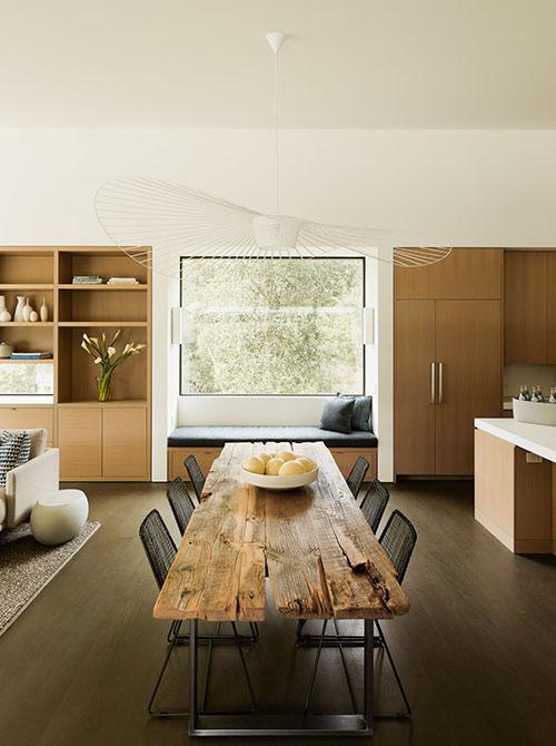ideas para decorar un salón de estilo rústico moderno