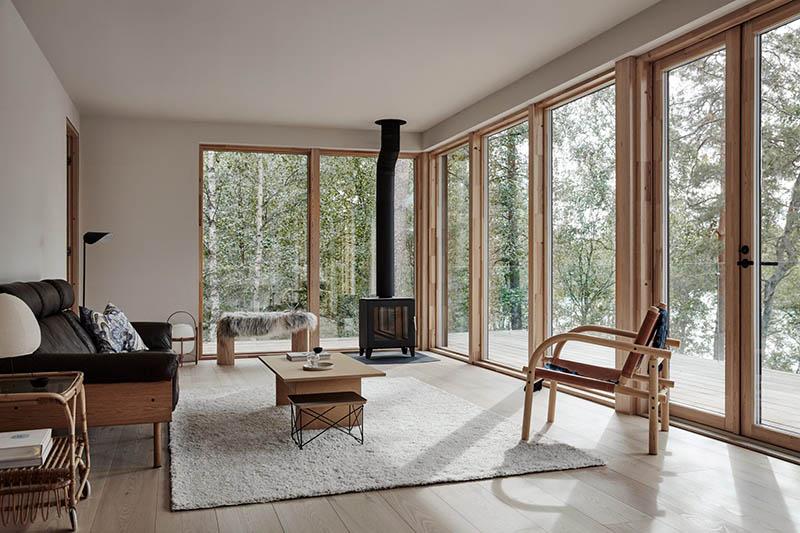 casa rústica de estilo nórdico