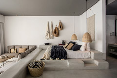 cestas de minbre y la decoración del hogar