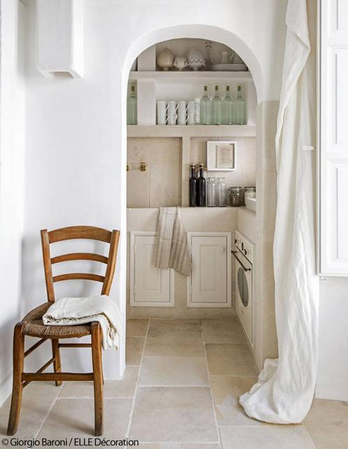 la cocina en las casas mediterráneas
