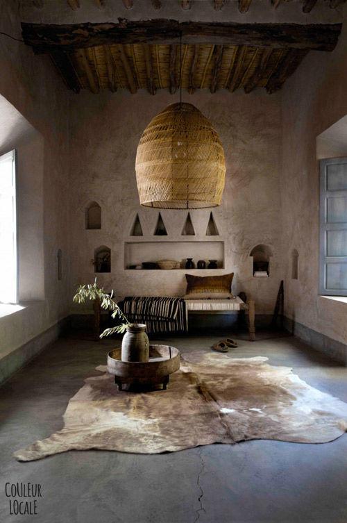 Lámparas de mimbre, tendencia en la decoración de interiores