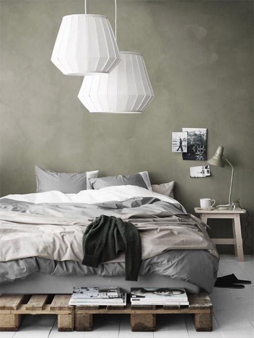 cómo decorar una habitación de estilo escandinavo
