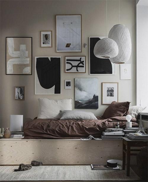 Láminas para decorar las paredes de la habitación
