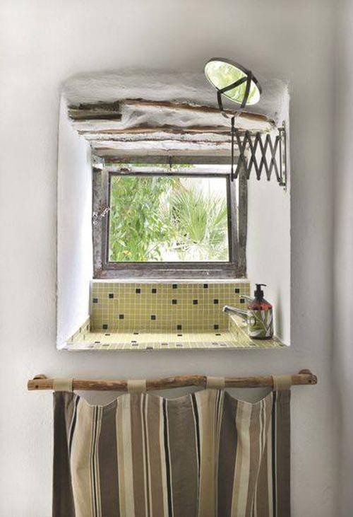 decoración de baños con un estilo mediterráneo