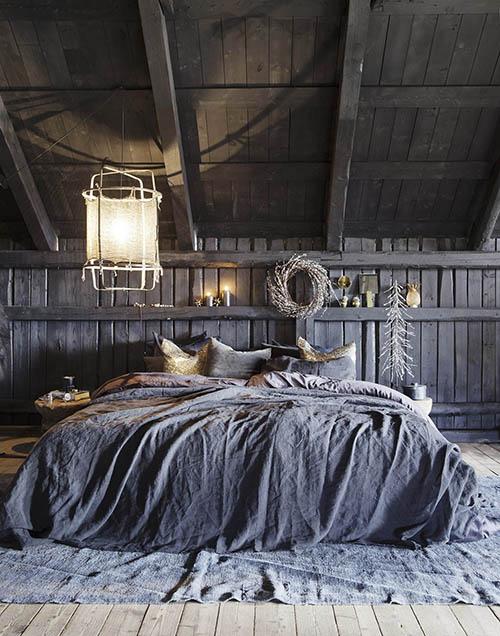 Una habitación en una granja