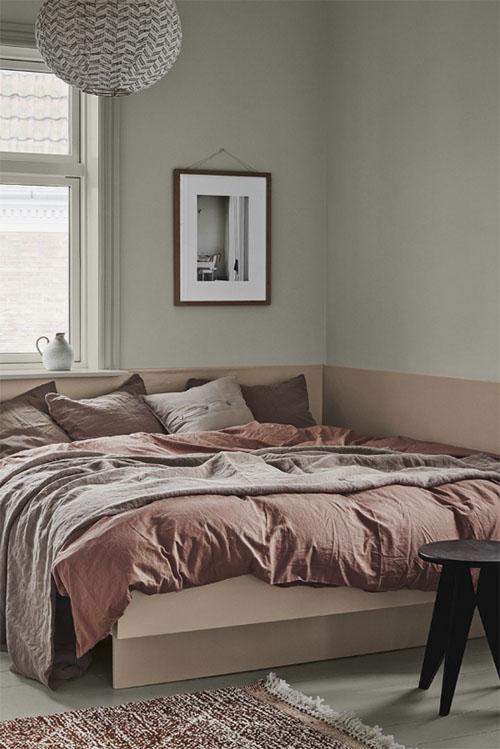 El color crema en la decoración de habitaciones