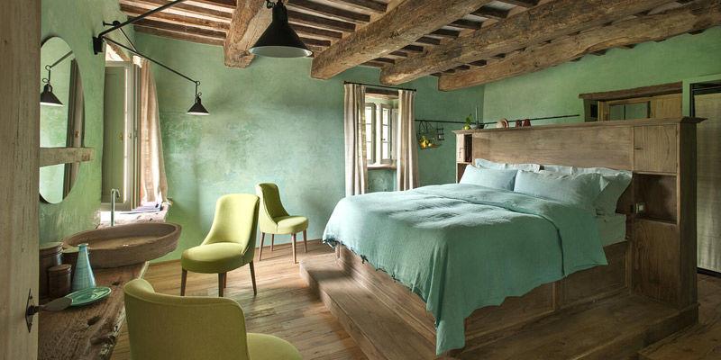 Dormitorios rústicos modernos