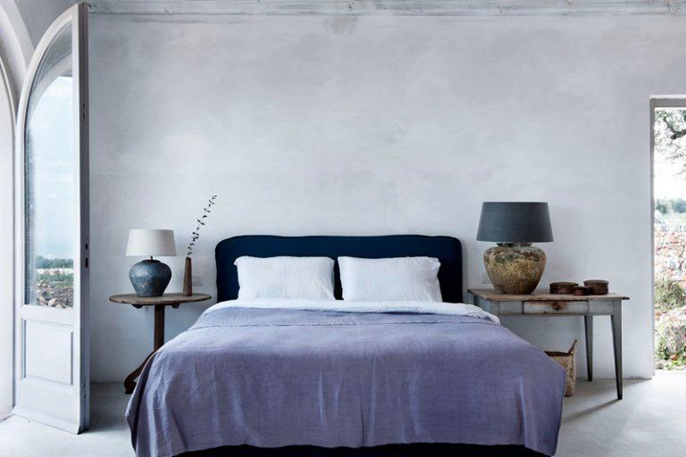 Dormitorio de un hotel rural