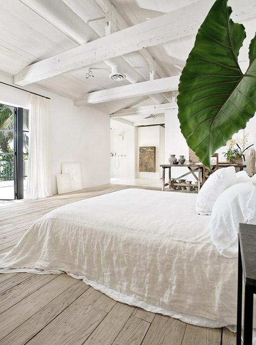 Amplitud de espacios en la decoración de estilo minimalista