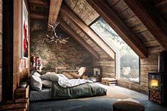 Habitaciones rústicas