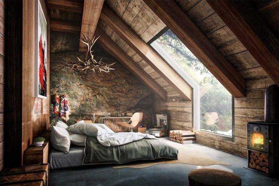 Decorar Dormitorio Rustico Matrimonio : 11 dormitorios rústicos para no salir nunca de casa nomadbubbles