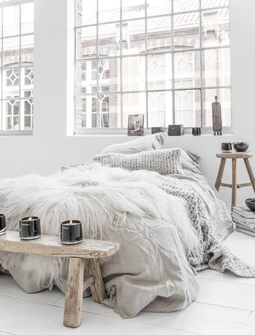 Cómo decorar un dormitorio scandi boho