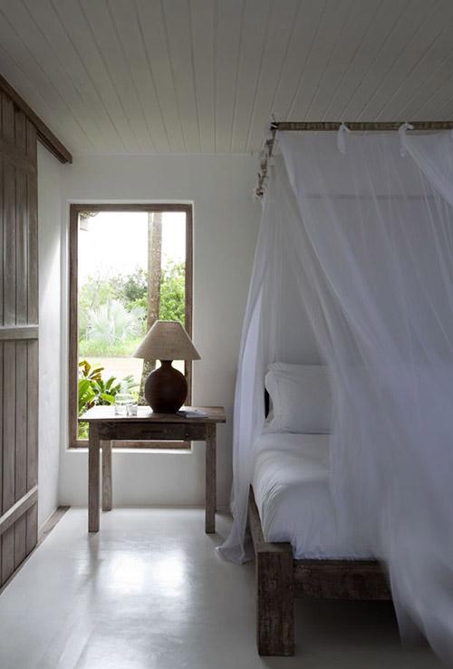 cómo decorar una habitación de una casa de playa