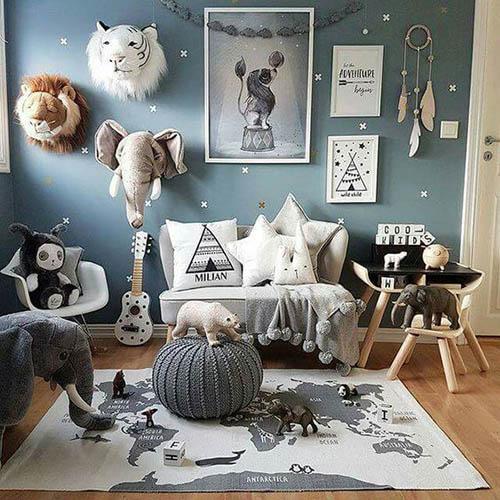 Cómo decorar un cuarto de niños