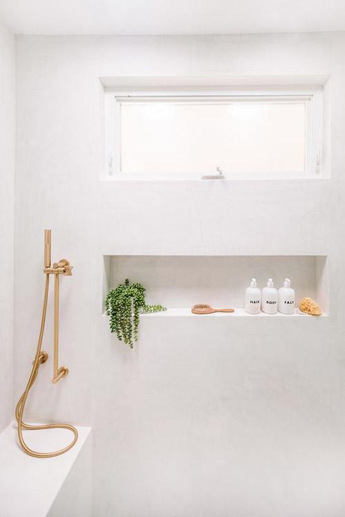nichos en la ducha