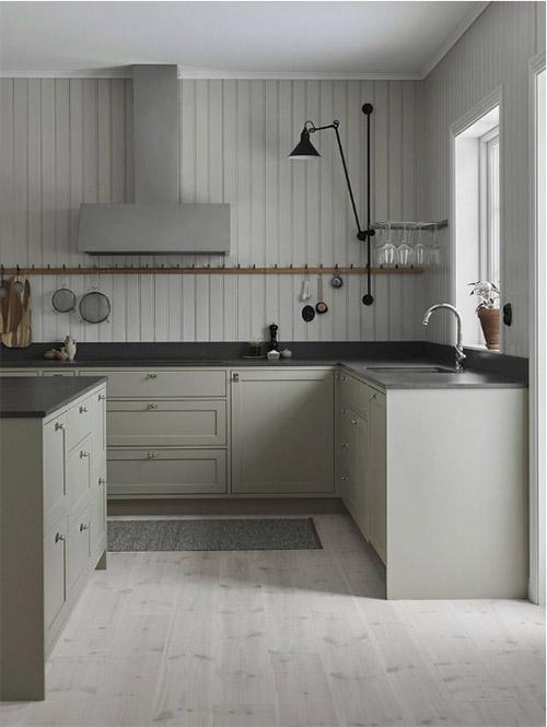 Colores en las cocinas escandinavas