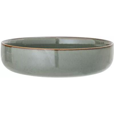 cuenco de cerámica para servir ensaladas