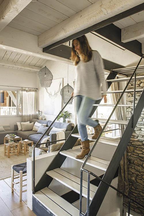interiores de casas rústicas