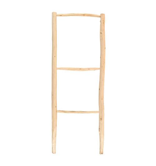 escalera de madera para la terraza de casa