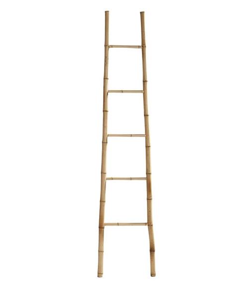 escalera decotativa de bambú