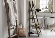 escaleras de madera para decorar el hogar